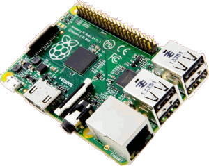 The Raspberry Pi model B+